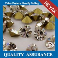 Quality China Factory rhinestone point back, loose pointed back rhinestone,glass point back rhinestone for sale