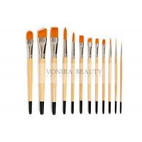 Quality Nylon Body Paint Brushes For Acrylic Oil & Watercolor Student Artist Brushes For Beginners & Fine Art Painters for sale