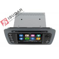 Buy Classic Sepecial Frame 6.2 Inch Seat Ibiza Dvd Player , Car Dvd Multimedia Player 3G at wholesale prices