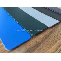 China Colorful Matt Large Output PVC Surface PVC Conveyor Belt with Fabric Abrasion resistant on sale