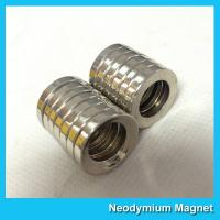 Buy cheap Multipole Radial Magnetization Neodymium Magnets Ring Shaped for Speaker / Sensor from wholesalers