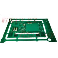 China Thickness 0.13MM FR4 PCB / Fr4 Double Sided Pcb Circuit Board Green Solder Mask on sale