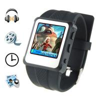 China MP4 Player Watch - 1.5 Inch Screen, 8GB (Black) on sale