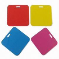 Quality PVC Luggage Tag, Customized Background Colors are Accepted for sale