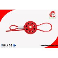 Quality Cheap 8 Hole Resistant ABS Wheel Type Cable Lockout multipurpose cable lockout Can be Customized for sale