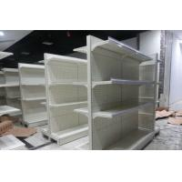 Quality Metal Gondola Storage Supermarket Display Shelving System Corrosion Protection for sale