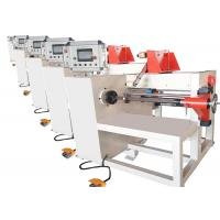 China PLC Automatic Wire Coil Winding Machine For LV And HV Oil Immersed Transformer on sale