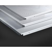 Quality Aluminum Ceiling System 600x600MM , Perforated Aluminum Ceiling Panels for sale