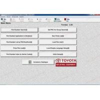 Quality Toyota Industrial v1.84 electronic parts catalog for forklift trucks for sale