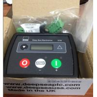 Quality PLC Electronic Deep Sea Control Panel PIN Protection With Manual Fuel Pump Control for sale