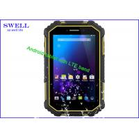 China Cellular 3G Rugged Phone , wifi GPS quad core processor tablet water proof on sale