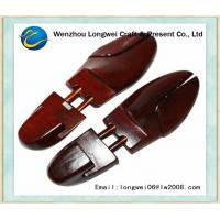 Quality Rosewood Alike Painted Wooden Shoe Stretcher And Shoe Keeper for sale