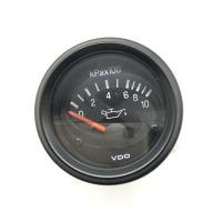 Quality 12V 24V Optional For VDO Oil Pressure Meter Diesel Engine Meter Oil Pressure Gauge for sale