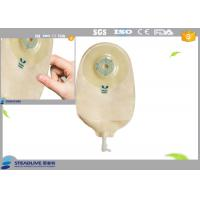 Quality Hospital 650ML Customized Colostomy Bag For Urine With Opening / Closing System for sale