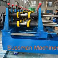 Quality 100-600mm Width Cable Tray Cold Roll Forming Machine With Punching Press Machine for sale
