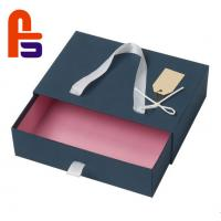 China Silk Ribbon Type 250 gsm - 350 gsm Ivory Board Materials Paper Shopping Bags on sale