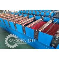 China Single Layer Aluminium Roofing Sheet Roll Forming Machine 2 Year Warranty on sale