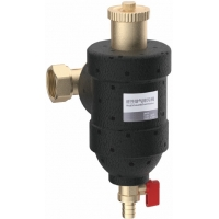 Quality 3600 Preposition Brass Valve DN25 With Magnetic Strainer And Automatic Air Vent and Built-in Bottom Flushing Drainer for sale