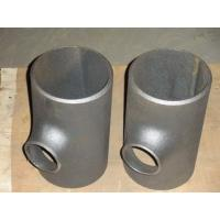 Quality Sand blasting Reducing tee Pipe Fitting seamless pipe fitting tee for sale