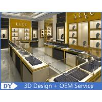 Quality Stainless Steel Jewelry Showcase / Jewelry Wall Display Cases for sale