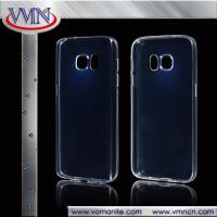 Quality High Quality Ultrathin Transparent soft tpu back cover case for samsung s7 for sale