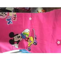 Buy 100% cotton printed fabric cartoon character desighs for bed sheet at wholesale prices