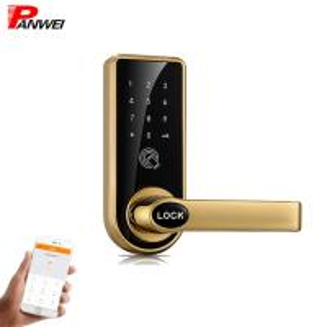 Quality Mechanical Pin Code Door Lock Zinc Alloy For Wooden Iron Door Black Silver for sale