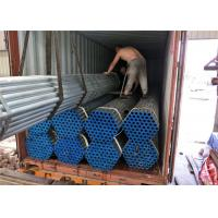 Quality Gi Size 8 Seamless Steel Pipe , Round Seamless Carbon Steel Pipe With Cap for sale