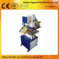 Quality TJ-9 Pneumatic Semi-automatic Foil Stamping Machine For Paper/Leather/Plastic/Wood Stamping for sale