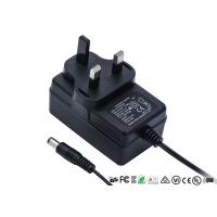 Quality 12V 2A AC DC Power Adapter UK 3pin Plug In Wall Mount Power Supply With CE GS TUV for sale