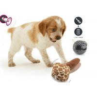 Colorful Electronic Bouncing Rolling Durable Dog Balls Non Toxic With Battery