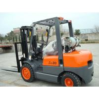 China 500mm Load Center Gasoline LPG Forklift With Operator Type Driver Seat on sale