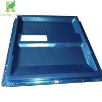 Quality 0.03-0.22mm Clear Blue PE Stainless Steel Film for Surface Protection for sale