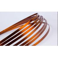Super Thin Flat Transformer Copper Wire Solderability 0.8 - 5.6mm High Solvent Resistance for sale