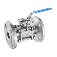 Quality A216 3 Inch Cast Steel Ball Valve , Full Bore Reduced Port Ball Valve for sale