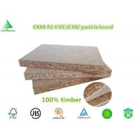 Quality 4'X8' manufacturing company wood flooring grade CARB P2 class raw flakeboard for sale