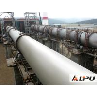 Quality High Capacity Lime / Limestone Rotary Kiln Equipment In Cement Production Line for sale