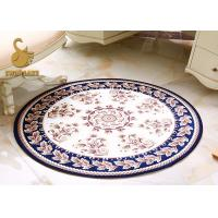 Buy cheap Corrosion Resistant Purple Door Mat / Bathroom Rug Christmas Style from wholesalers