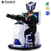 Quality Coin Operated Gun Amusement Suppliers Gatling Shooting VR for Business Opportunity for sale