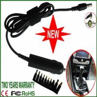 Quality Universal intelligent Laptop DC Car charger Power Adapter with 10tips for sale