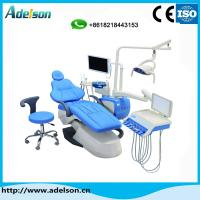 China China manufacturers price belmont medical dental equipment dental chair unit price with luxury tool tray on sale