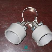 China Wire Tensioner Galvanized Fence Fittings Clamp Pole Anchor 60x40 on sale