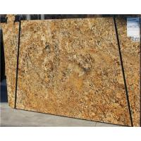 Quality Brazil Gold Granite Tile Countertop / Granite Slabs For Kitchen Countertops for sale