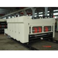 Automatic Corrugated Box Making Machine With Chain Feeder 60 Pieces
