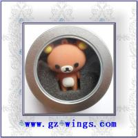 Quality WS804-Bear in Box USB Flash Disk for sale