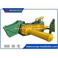Quality Customized PLC Control Hydraulic Metal Baler Machine Round Packing Block Or Square Bale for sale