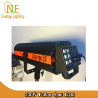 Buy cheap High brightness electronic 7r 230w follow spot light DJ Stage Lighting Led Effect Light from Wholesalers