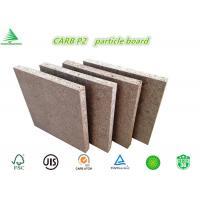 Quality Standard size E0/CARB P2 class 18MM wholesale cheap raw chipboard for sale