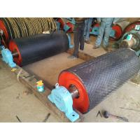 Buy cheap 12 mm length flame retardant wear resistant rubber lagging for conveyor pulley from wholesalers