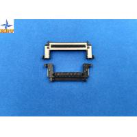 Quality One Row 0.5mm Pitch Lvds Display Connector Type With Stainessless Shell for sale